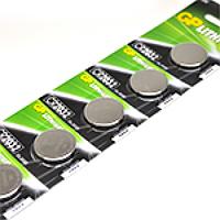 Батарейка литиевая GP CR2016-8C5, 5 шт в блистере (упак.100 штук) цена за блистер