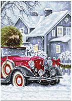 Набор для вышивки крестом Luca-S BU4010 «Зимние праздники»