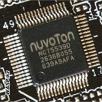 Контроллер ввода / вывода и системного мониторинга Nuvoton NCT5539D