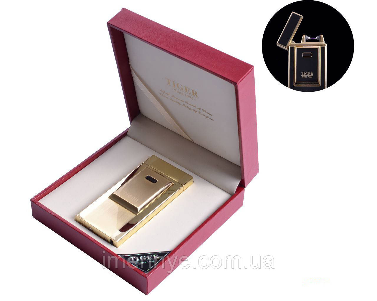 USB зажигалка TIGER на подарок