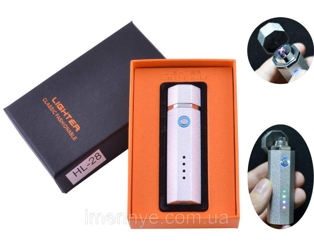 Подарочная USB зажигалка с подсветкой