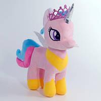 Мягкая игрушка Коник Пони Принцесса Розовая 33 см (литл пони my litle pony) 00084-87 Украина