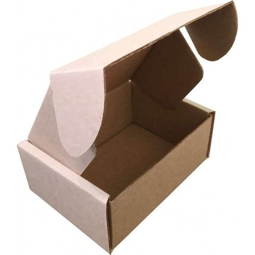 Самосборная картонная коробка - 145 × 95 × 60 - бурая / объем 0,3 кг