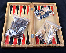 Игровой набор 3в1 нарды шахматы и шашки