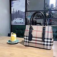 Женская сумка копия Барбарри Burberry качественная эко-кожа дорогой Китай