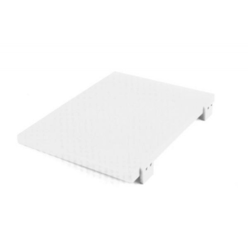 Разделочная доска 500*370*20 мм Durplastics белая 9842NT5