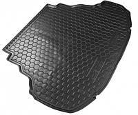 Резиновый коврик в багажник FIAT Doblo (2001>) (5м) корот. база с сеткой