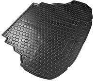 Резиновый коврик в багажник KIA Niro (2018>) (с органайзер.), фото 1