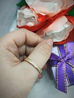 Кольцо,медзолото,позолота,медицинское золото,Xuping  21 размер