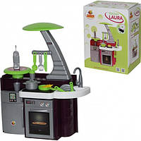 Игровой набор Кухня Laura с аксессуарами 75см ТМ Полесье 56313
