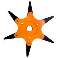 Диск для триммера 6Т 255 x 25.4 мм сегментный (3131)
