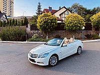 Аренда кабриолета Mercedes-Benz E-class Cabrio