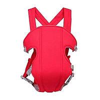 Слинг-рюкзак Baby Carriers Красный (MW012)
