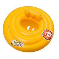 Плотик надувной детский Bestway Желтый (32096)