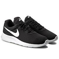 Кроссовки мужские Nike Tanjun Black White Черные