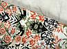Легкие брюки для летней жары в цветочный принт  PN1924008, фото 3