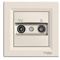 TV/R Розетка EPH3300123 оконечная ASFORA Schneider Electric Крем