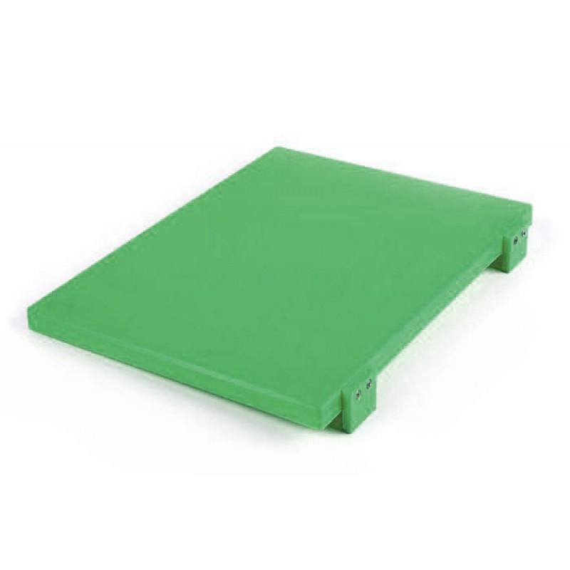 Разделочная доска 500*370*20 мм Durplastics зеленая 9842VD5
