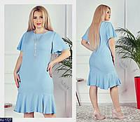 Платье AV-1727 в разных цветах. Размеры 50;52;54;56, фото 1