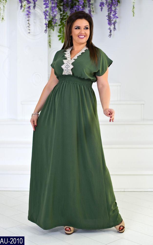 Платье AU-2010 в разных цветах. Размеры 50-54, фото 1