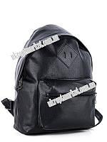 "Рюкзак женский 29 BLACK (23х33 черный) ""David Polo"" LG-1605"