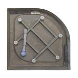 Eger TOKAI півкруглий акриловий піддон 90*90*15 см, фото 4