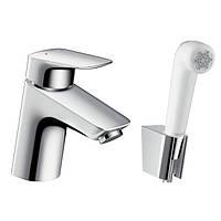 -25% | 2828 Грн | Hansgrohe Logis Смеситель для раковины, однорычажный с гигиеническим душем