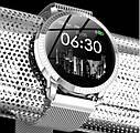 Фитнес браслет с измерением пульса и давления Smart band CF18 Silver, фото 5