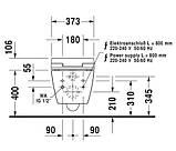 Нужно дешевле? Звоните. Duravit ME BY STARCK унитаз подвесной для сидения Sensowash, rimless, фото 2