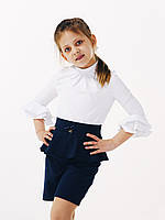Блуза для девочки с 3/4 рукавом, ТМ Смил, 114642 возраст 6 - 10 лет