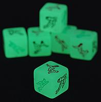 🎁 Неоновый кубик с позами🎁кубик с позами, неоновый кубик, камасутра, sex кубики, секс кубики, светящийся кубик, эротическое белье