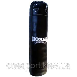 Боксерский мешок кольцевидный Boxer Элит, кожаный, 1.4 м (код 236-250290)