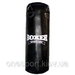 Боксерский мешок кольцевидный Boxer Элит, кожаный, 1.2 м (код 236-250291)