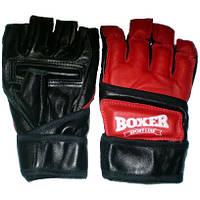 Перчатки для Каратэ Boxer 5008 К XL кожаные красные (код 236-250335)