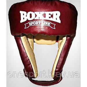 Шлем Boxer 6001 К L красный (код 236-250403)
