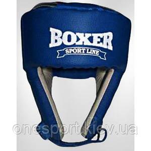 Шлем Boxer 6001 С L синий (код 236-250404)