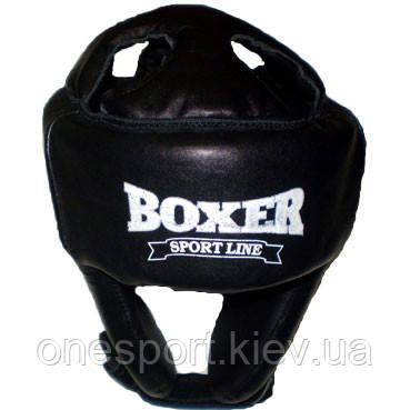Шлем Boxer каратэ 6004 Ч L черный (код 236-250414), фото 2