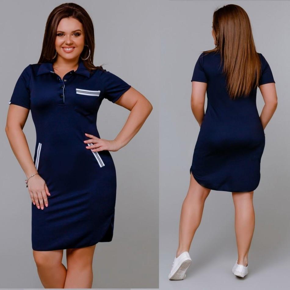 82353a46c54864 Сукня літня трикотажна у спортивному стилі, цена 410 грн., купить в Полтаве  — Prom.ua (ID#984077836)