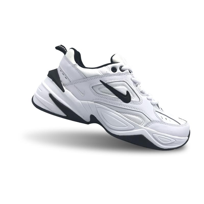 Кроссовки Nike Air Monarch M2K Tekno White Black Белые мужские