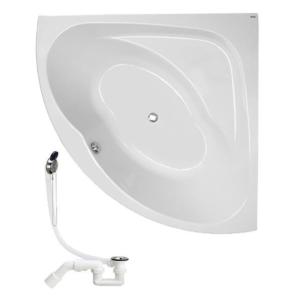 Звоните. Будет дешевле. Kolo INSPIRATION ванна угловая 140*140 с ножками + сифон Viega, XWN3040000