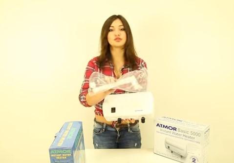 Проточный водонагреватель Atmor Basic 5 (душ) душ
