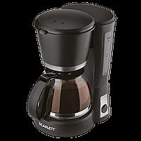 Кофеварка капельная 4-6 чашек Scarlett SC-038 600 Вт черная