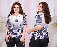 Блуза женская батал  модель БЛ014кп.