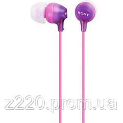 Наушники SONY MDR-EX15LP Violet (MDREX15LPV.AE)