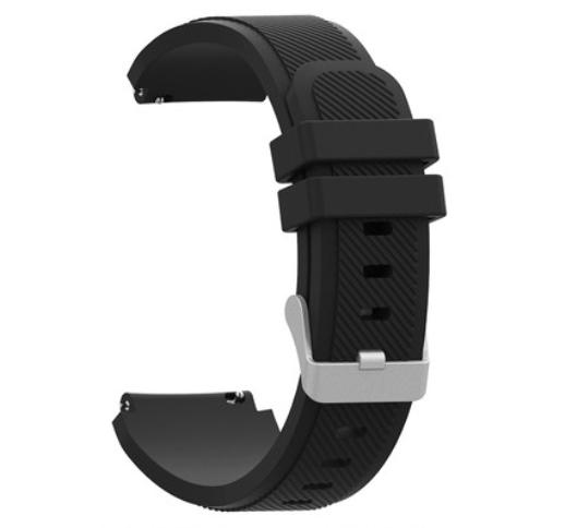 Ремешок Youth Version рифленый для Xiaomi AMAZFIT Bip Black (Черный)