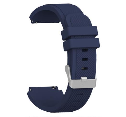 Ремешок Youth Version рифленый для Xiaomi AMAZFIT Bip Navy (Синий)