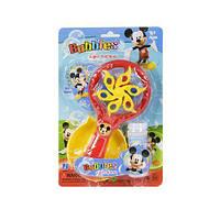 """Вентилятор с мыльными пузырями """"Микки Маус"""""""