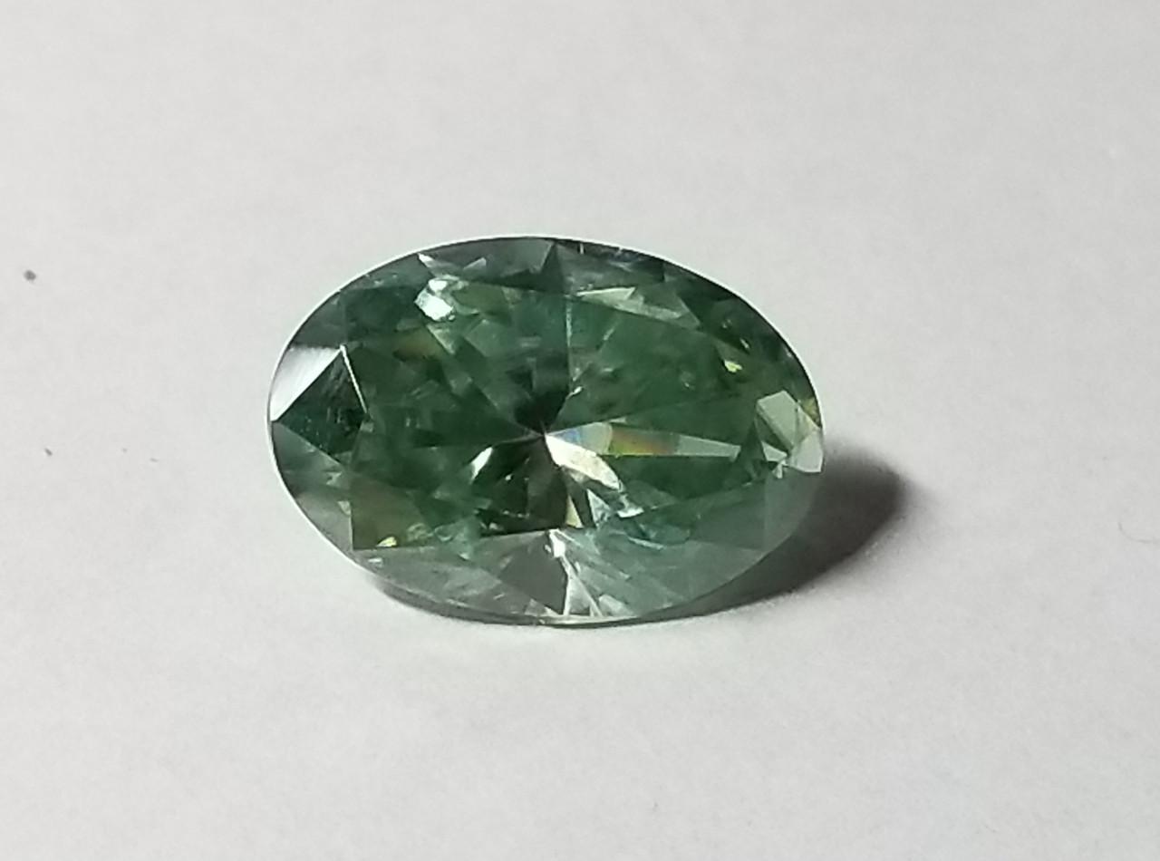 Бриллиант - Муассанит  5.36ct VVS1  14.56MM
