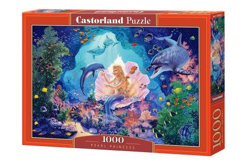 """Пазлы """"Русалка и дельфины"""", 1000 элементов (ребенок, море, рыбки)"""
