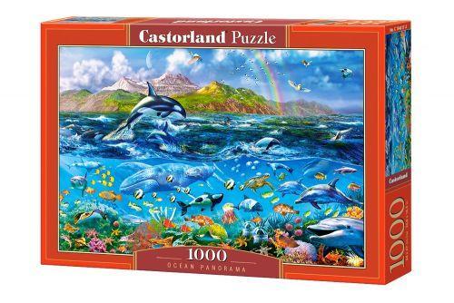 """Пазлы """"Панорама океана"""", 1500 элементов (пейзаж, рыбки, дельфины)"""